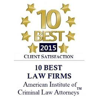 American Institute of Family Law Attorneys - Top 10 2015
